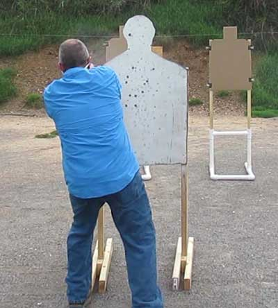 cover and shoot silhouette training