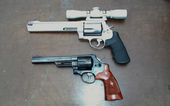 Smith and Wesson 500 Magnum Compared to Model 29