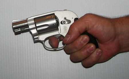 S&W Airweight .38 Special +p Trigger Reach