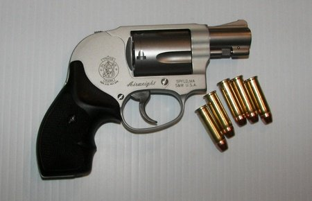 Smith And Wesson Airweight .38 Special With Ammo