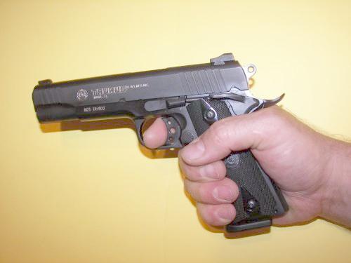 Taurus 1911 Trigger Finger Reach