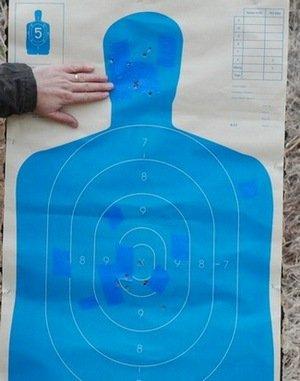 Taurus 627 Revolver Silhouette Shooting