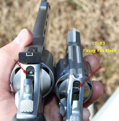 Taurus Model 85 .38 Special Firing Pin Block