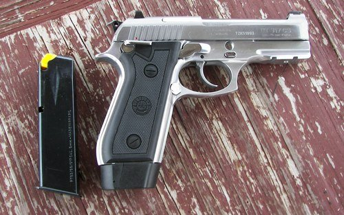 Side view of the Taurus PT917 CS
