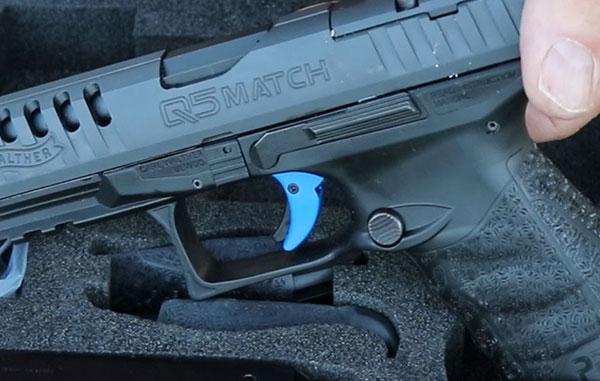 Walther PPQ Q5 Match pistol trigger